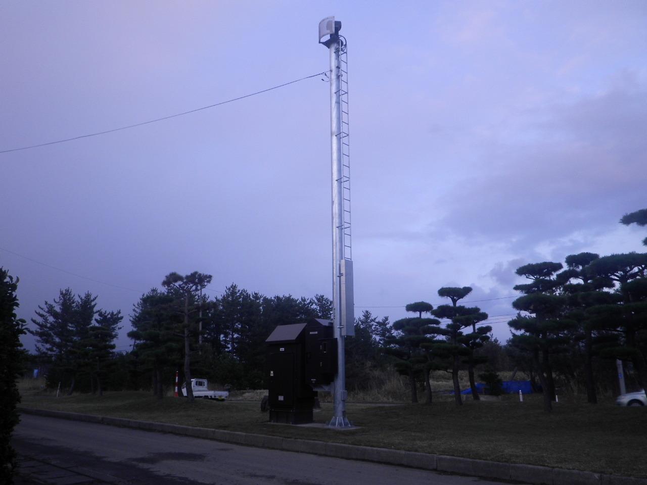東北地方整備局 管内道路画像監視設備設置工事