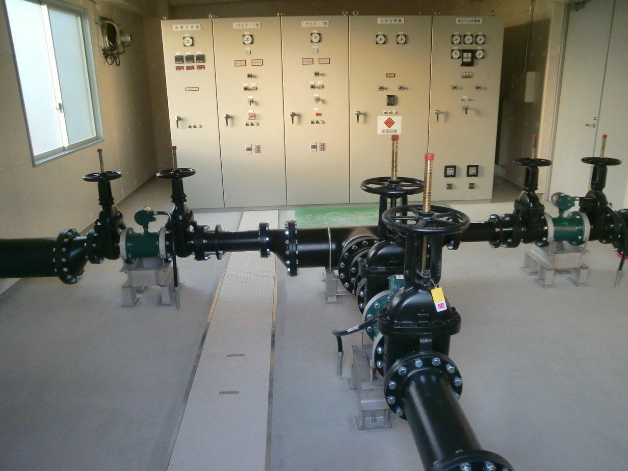 東北地方整備局 一関遊水地六日市場統合揚水機場ポンプ設備新設工事