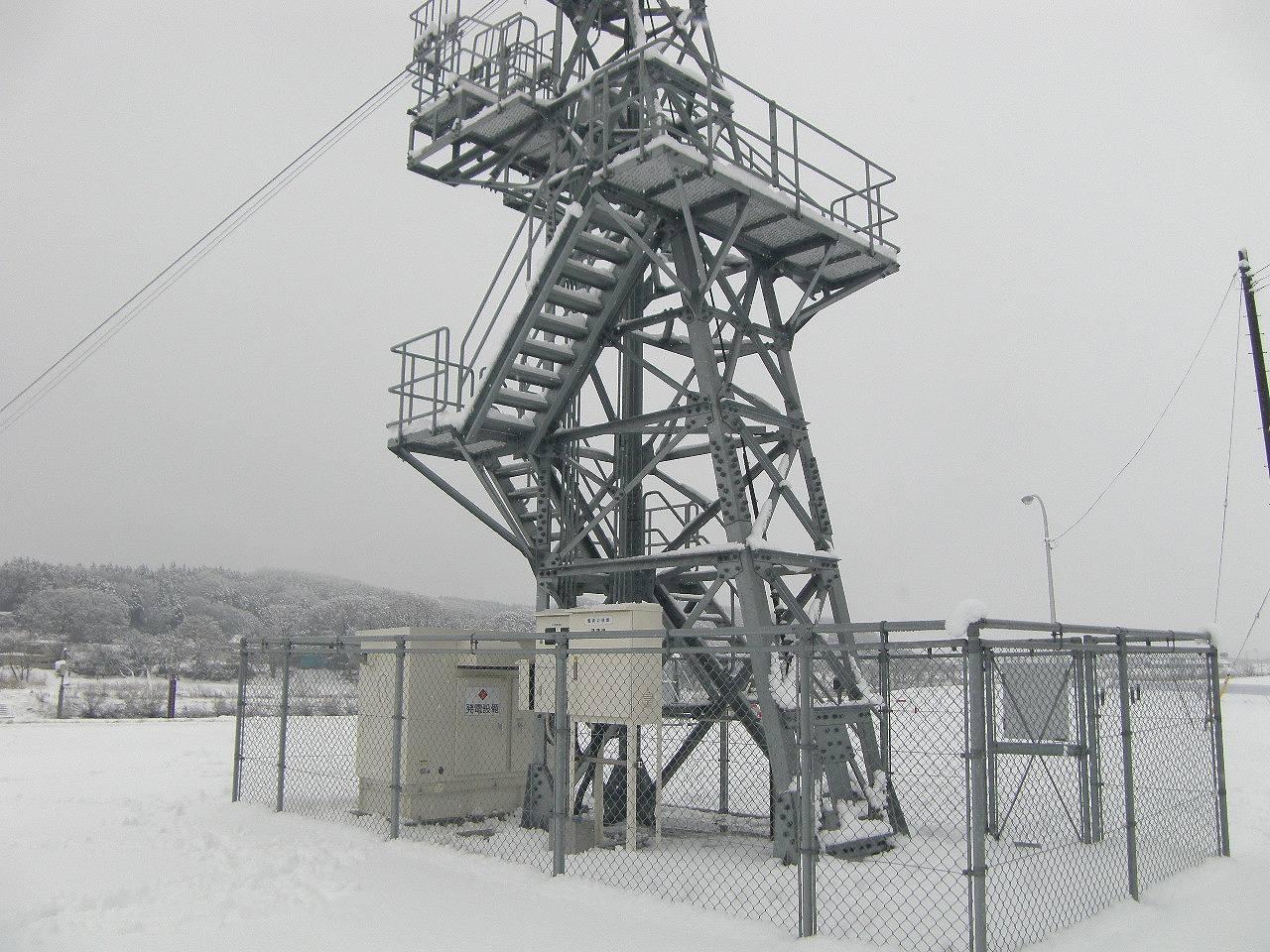 秋田管内発電設備設置工事