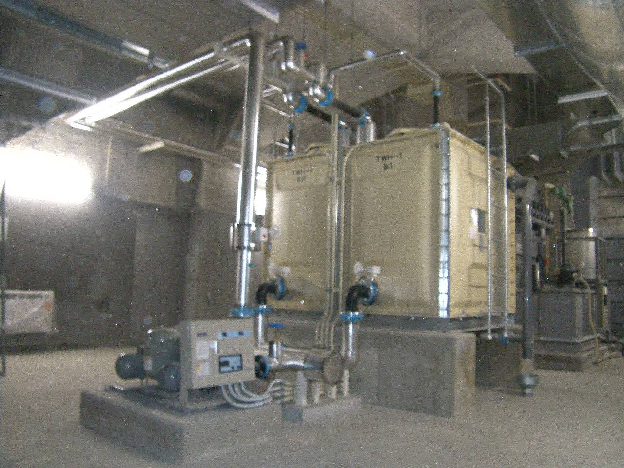 能代市能代終末処理場建築機械設備工事