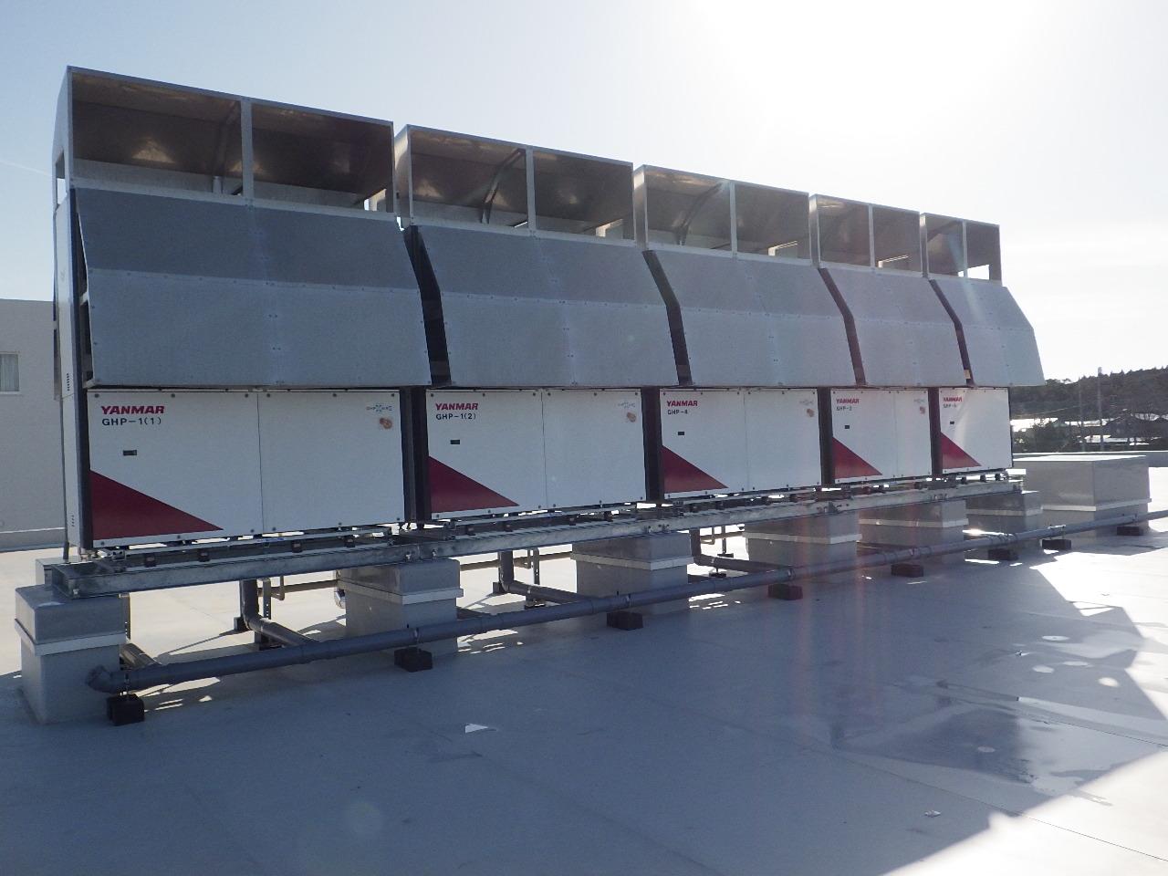 能代地区専門系統合校 工業科・農業科実習棟機械設備工事